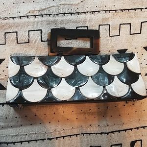 Handmade Mother of Pearl purse